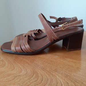 Naturalizer Size 9 Women's Brown Heeled Sandal